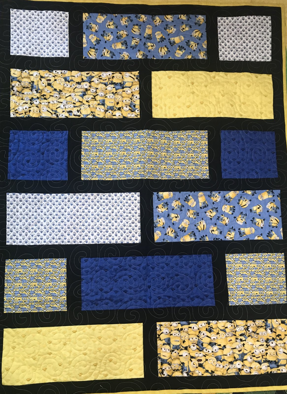 More Minions Quilt/ Wall Hanging