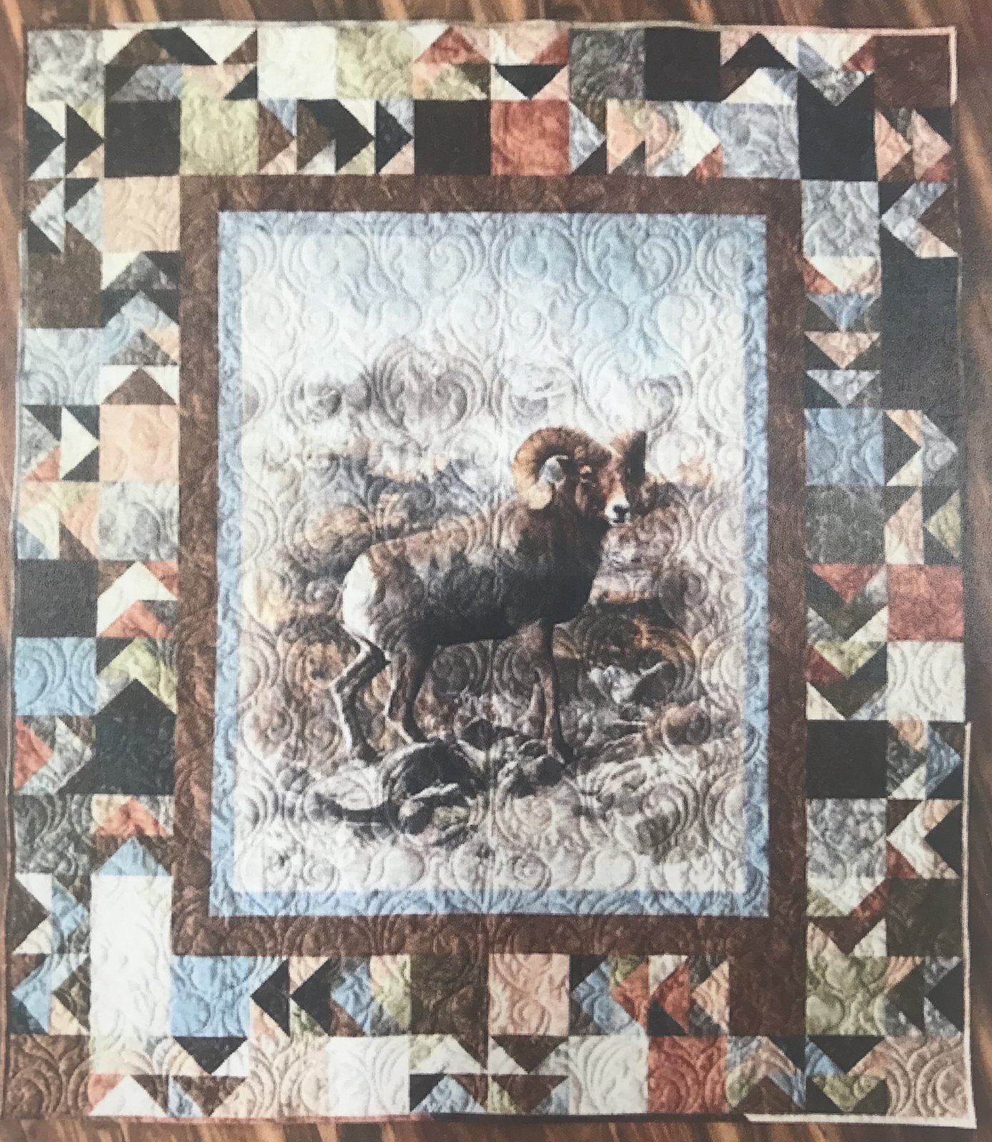 BIg Horn Sheep Quilt