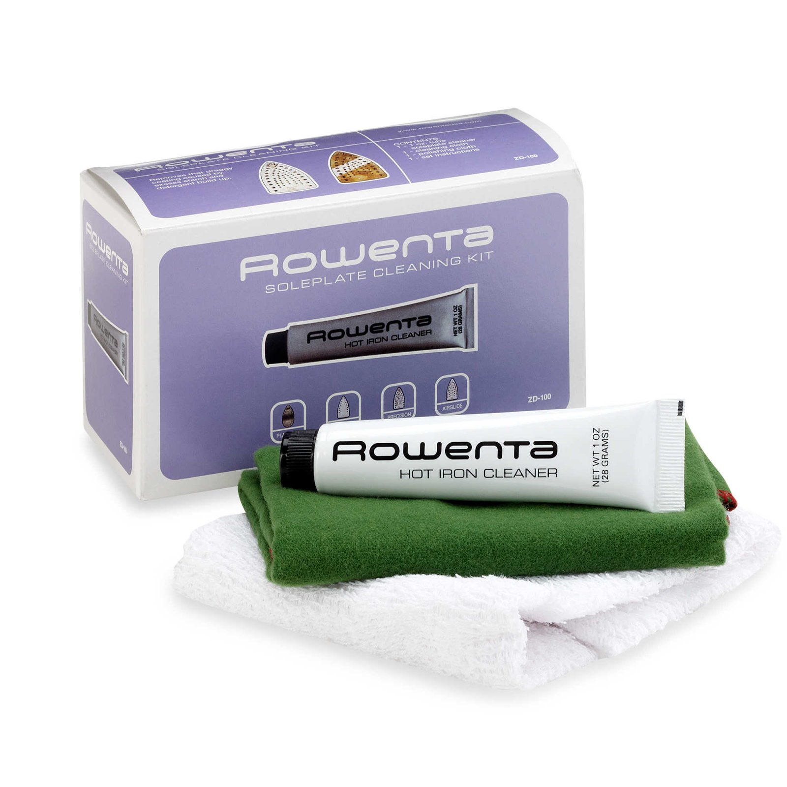 Rowenta Soleplate Cleaning Kit