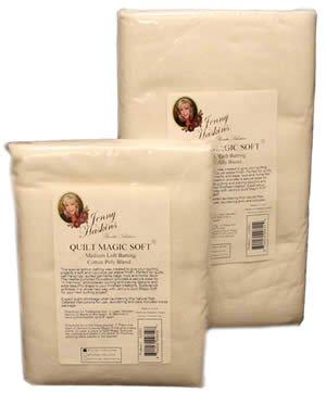 Jenny Haskins Quilt Magic Soft Medium Loft JQMS1 '