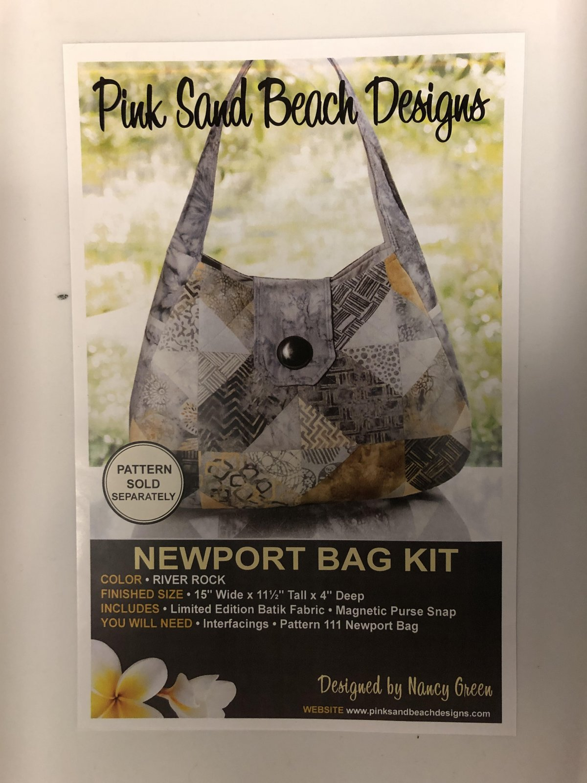 Newport Bag Kit 111 Pink Sand Beach Designs '