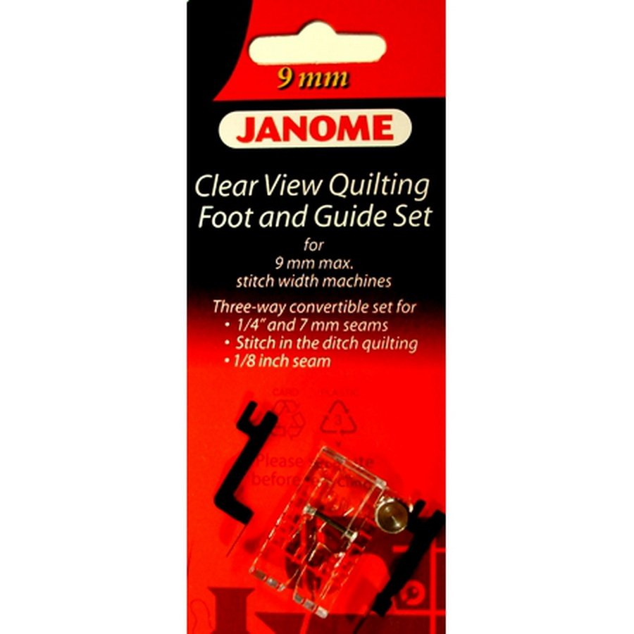 Janome Clear View Quilting Foot OV 9mm `