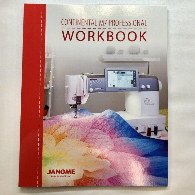 Janome Continental M7 Workbook