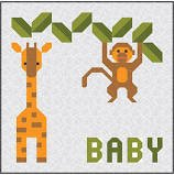 Jungle Baby Quilt Patter by Sew Fresh Quilts Lorna McMahon `