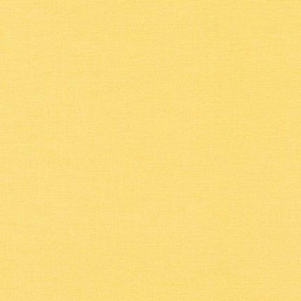 Kona Cotton Solid K001-1056 Buttercup Robert Kaufman '