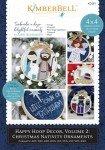 Kimberbell Happy Hoop Decor Volume 2 Christmas Nativity Ornaments CD KD581