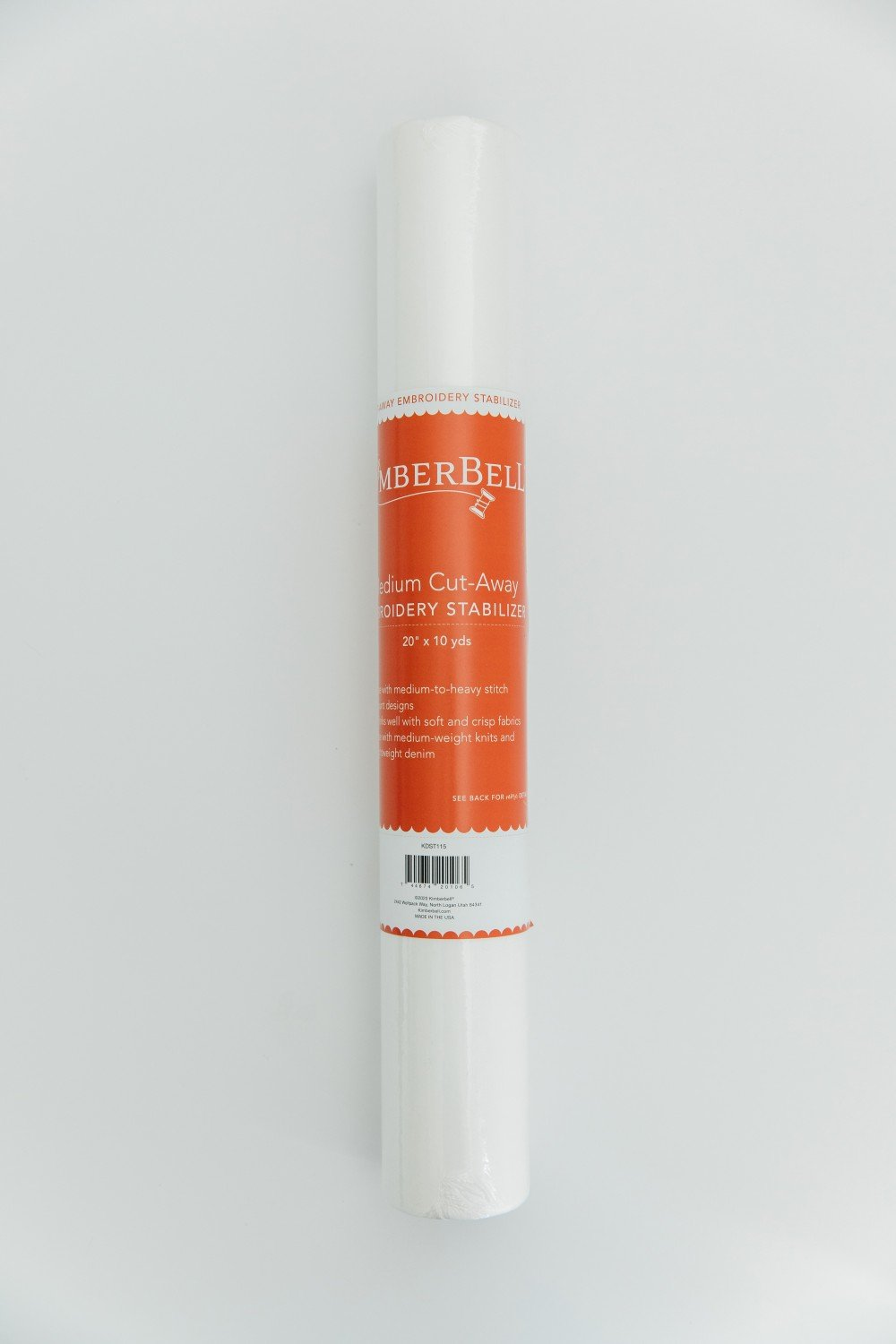 Kimberbell Medium Cut-away Embroidery Stabilizer 20in KDST115