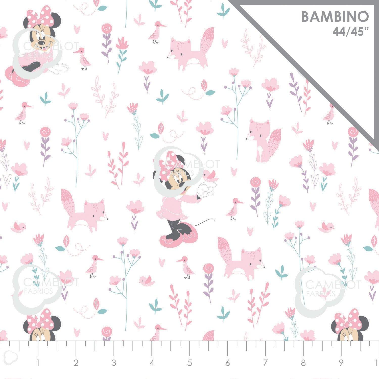 Camelot Fabrics Little Meadow Little Fox Minnie  85270402-01 `