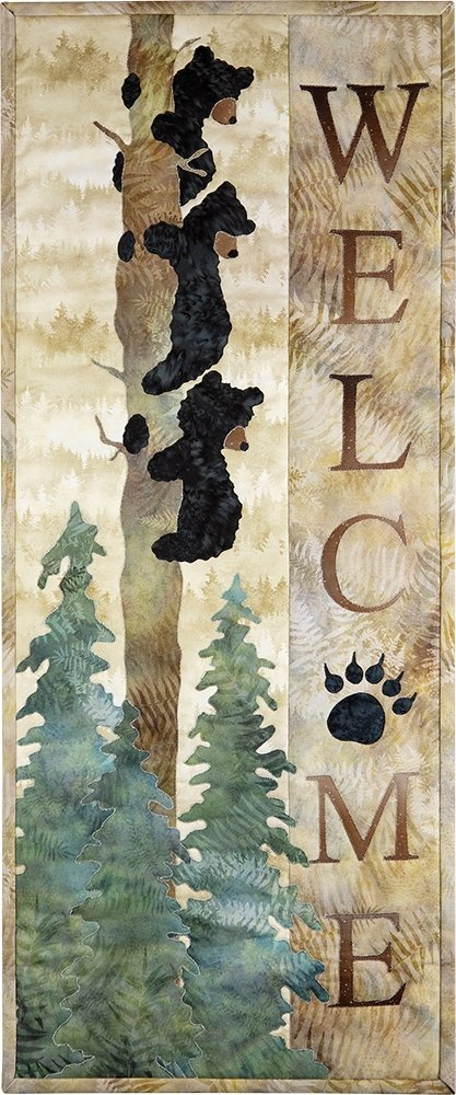 Welcome Bear Inn Applique Kit FKWELCOME