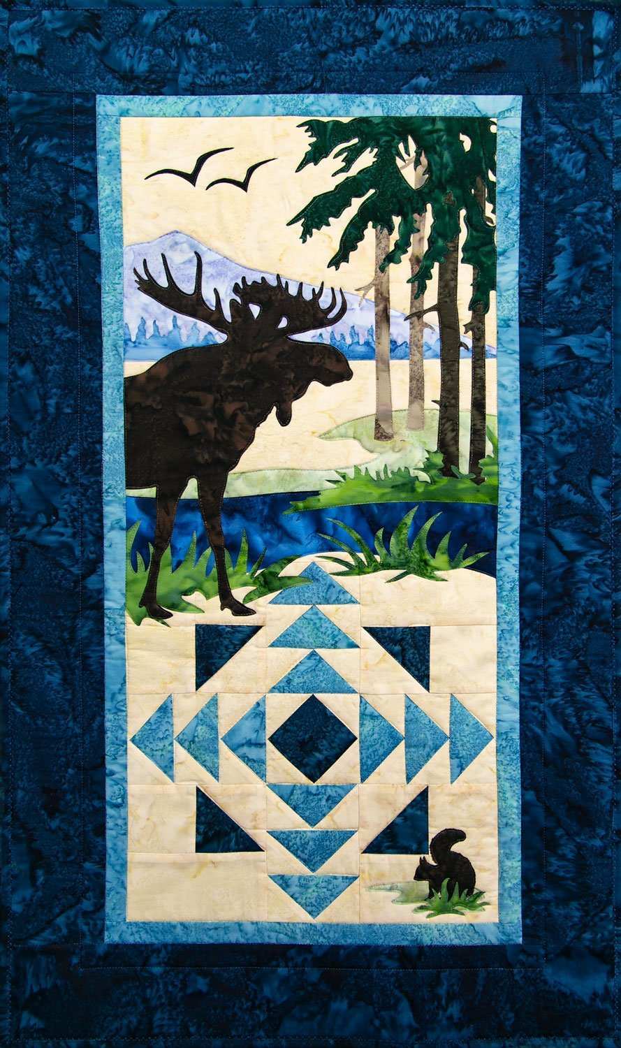 Moose Creek Quilt Kit Northern Threads +