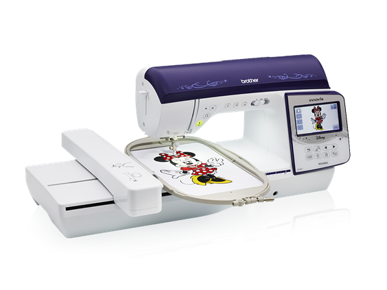 Innov-Is NQ 3600D Embroidery machine Brother