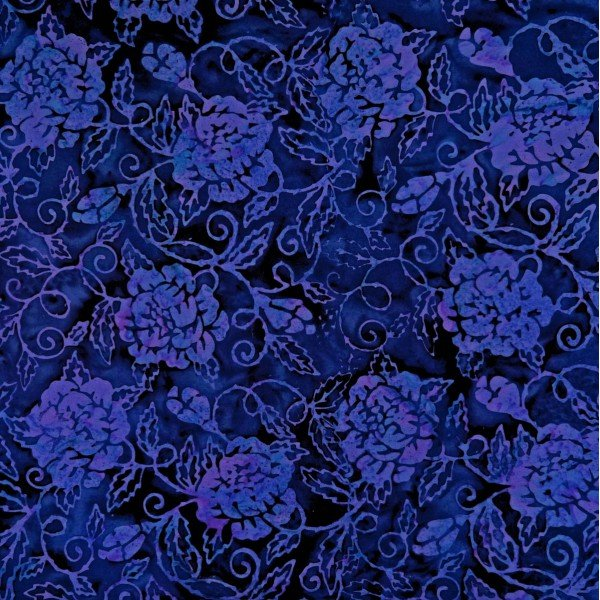 Batik by Mirah NR-1-1372 Neutrinos Blue Squill '