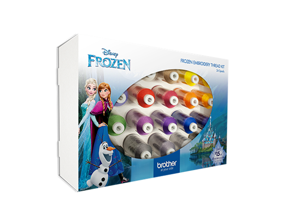 Disney Frozen Embroidery Thread Kit ETPFROZ124 `