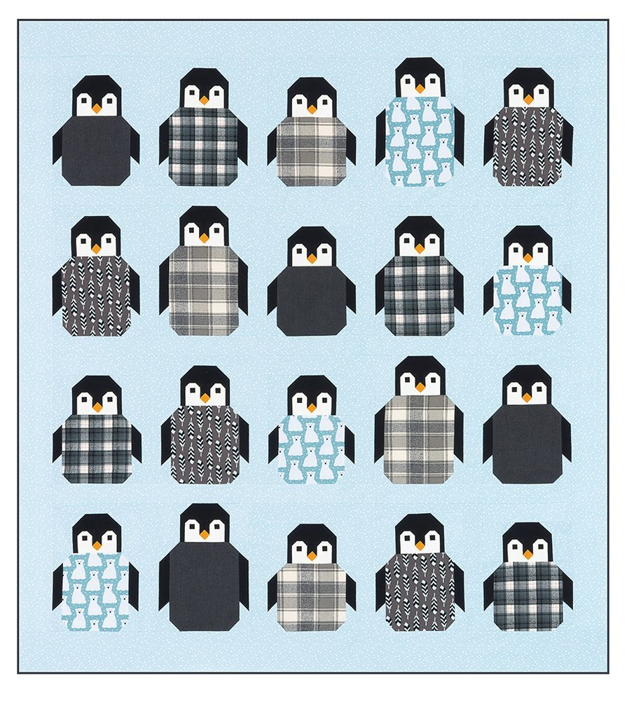 Penguin Party Pattern `