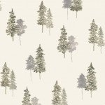 P&B Textiles Forest Retreat Trees 4338G