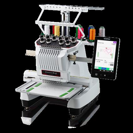 10 Needle Embroidery Machine PR1055X