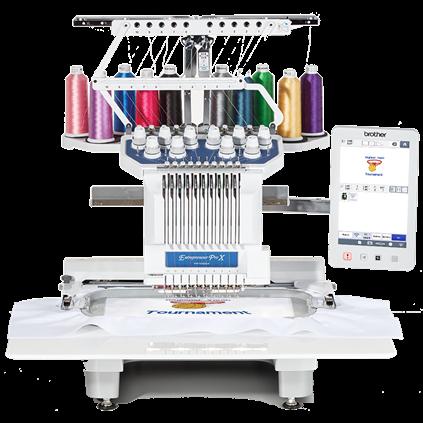 Brother Entrepreneur Pro X PR1055X 10 Needle Embroidery Machine