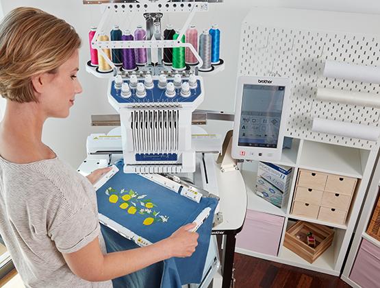Entrepreneur Pro X PR1055X 10 Needle Embroidery Machine