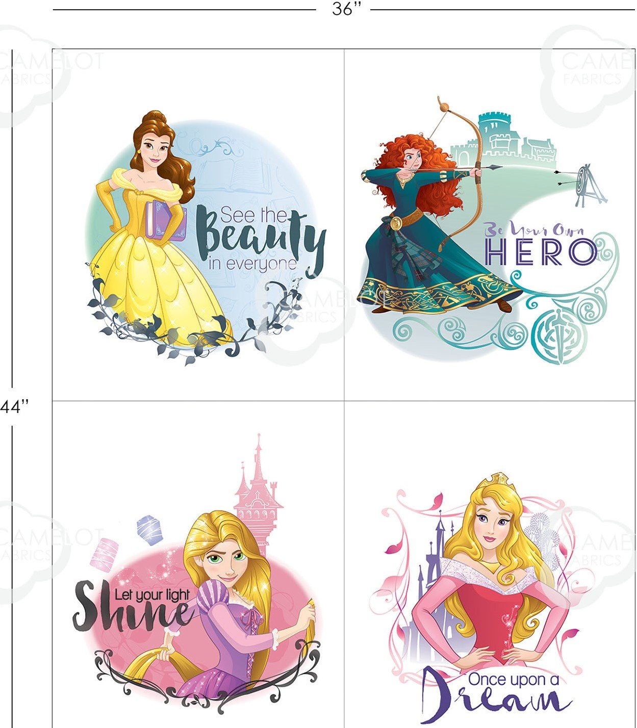 Princess Heart Strong - See the Beauty Panel `