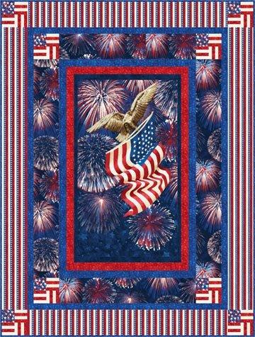Star Spangled Banner pattern `