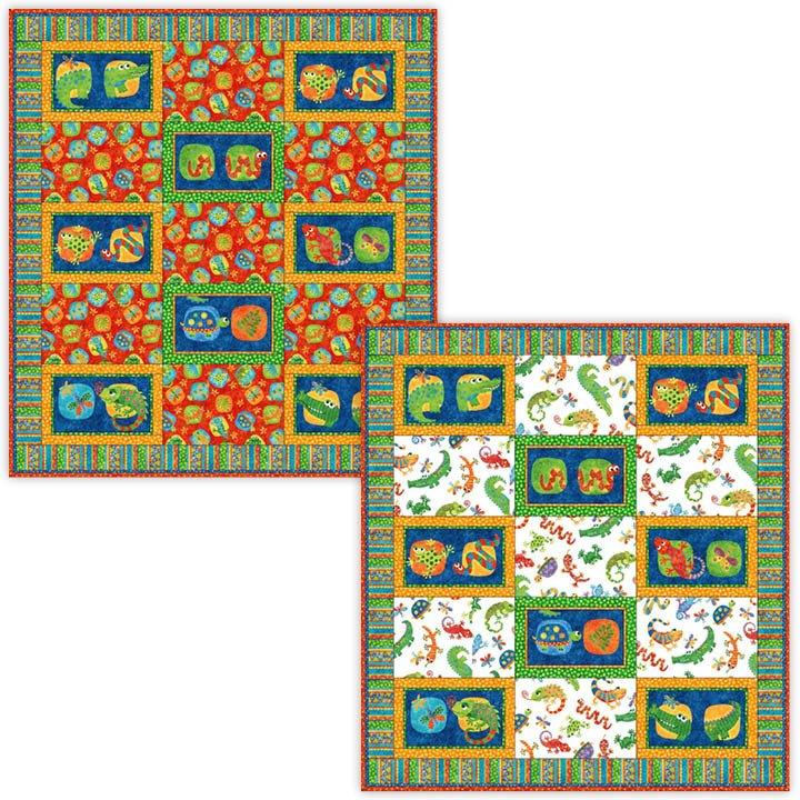 Reptile Fun Pattern GQ103 `