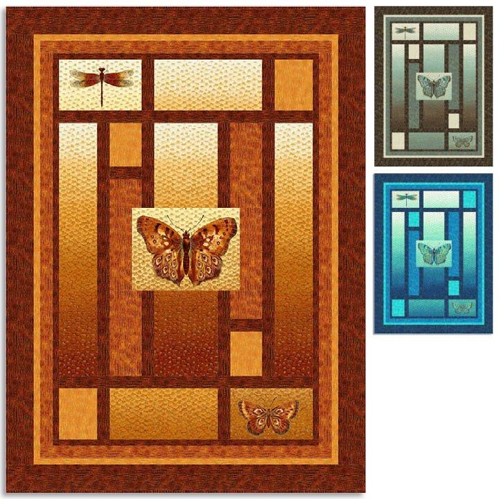 Flight of Fancy quilt pattern `