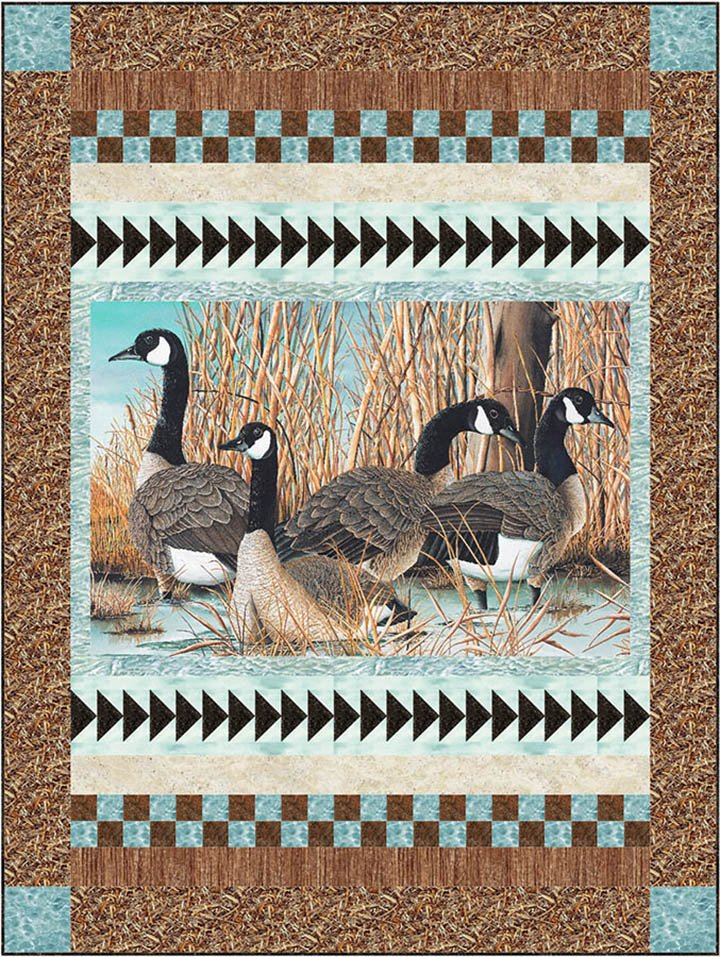 Canada Geese pattern `