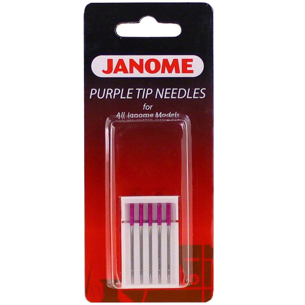 Janome Purple Tip Needles 5Pk 202122001