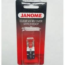 Janome Clear View Cover Stitch Foot