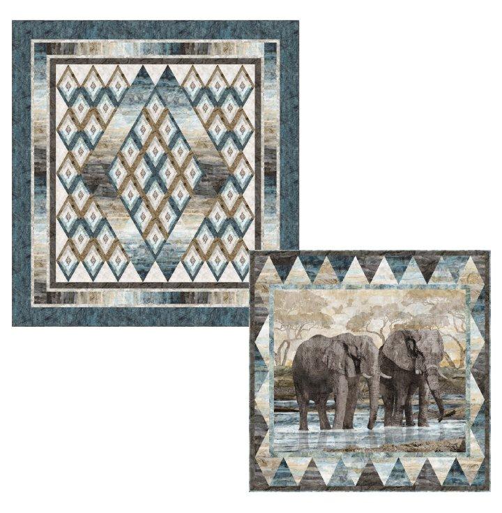 Diamons On The Horizon Panel Quilt Pattern PTN2731
