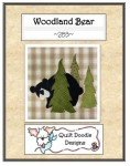 Woodland Bear Pattern QD283