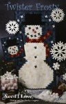 Twister Frosty Wall Hanging or Quilt Pattern QP6