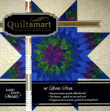 Quiltsmart 38in Lone Star Snuggle Pack