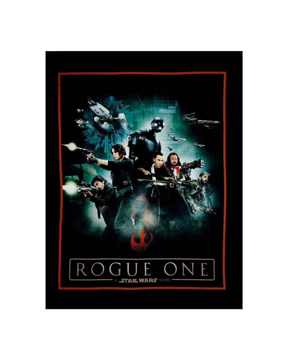 Camelot Star Wars Rogue One Fabric Panel 7370112P