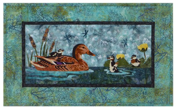 Wildfire Designs Alaska River Run: Taking a Trip Wallhanging Laser Cut Kit Plus Pattern WDA2001LKP...