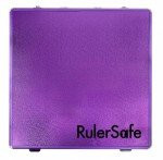 Ruler Safe Square Purple RSSQPUR