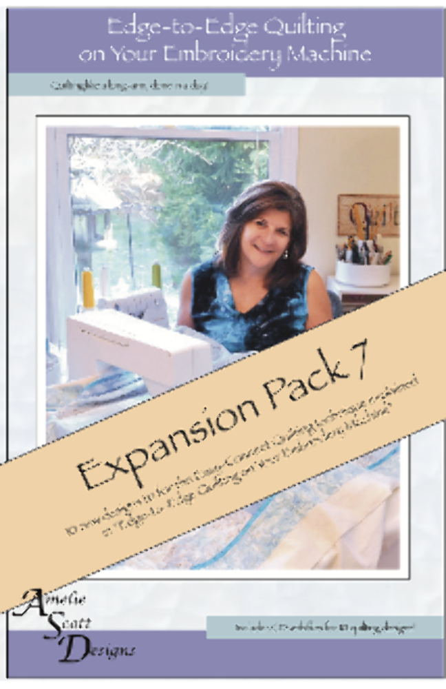 Edge to Edge Quilting Expansion Pack 7 `