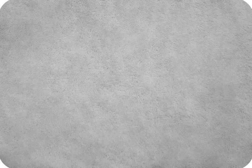 Shannon Fabrics Soft Cuddle SCSILVER Silver Minky '