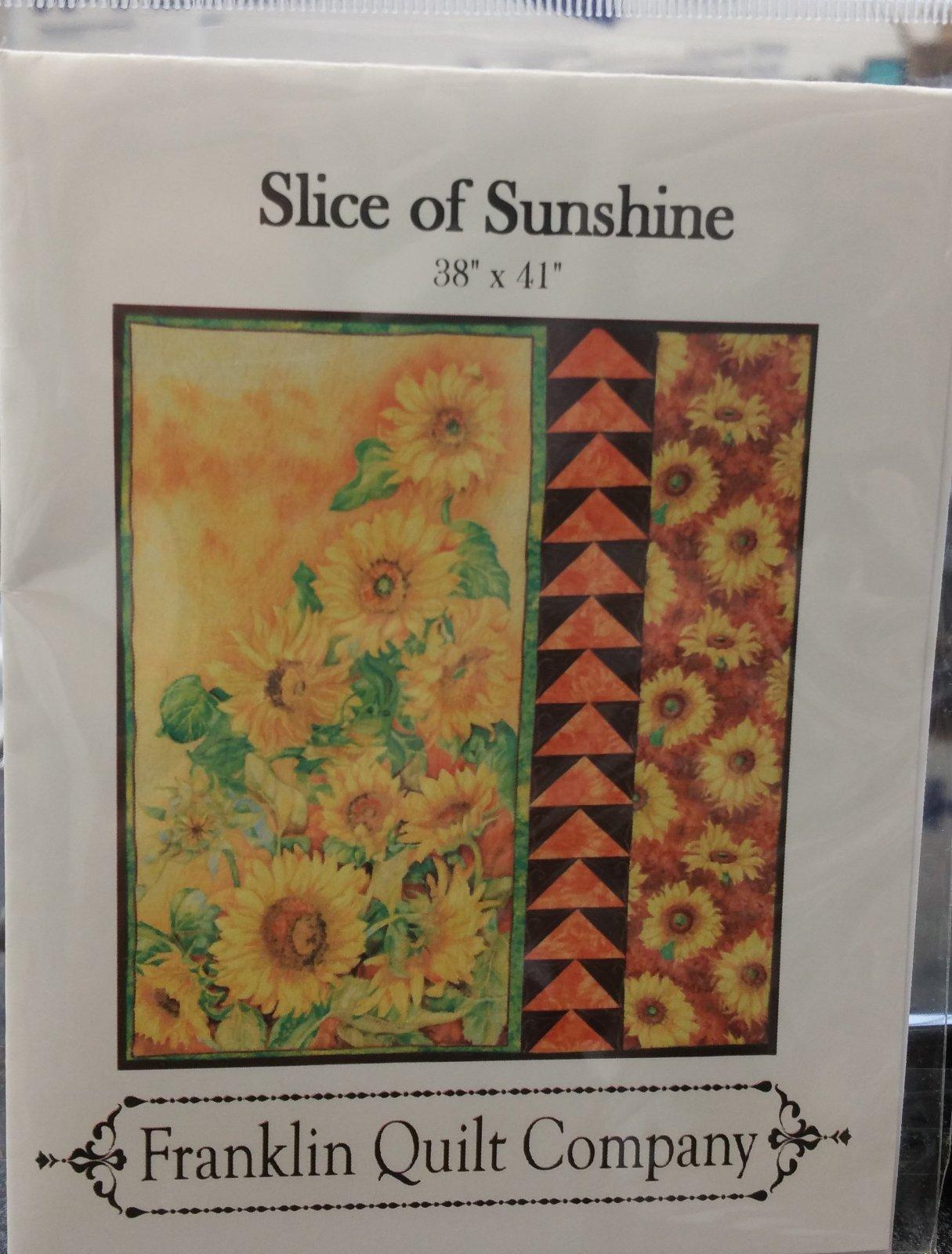 Slice of Sunshine patern FQC032 `
