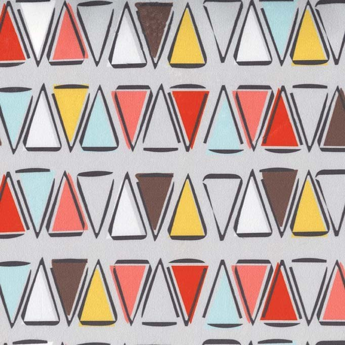 Michael Miller Fabrics Kodiak Triangle SMZ7679-GRAY-D '