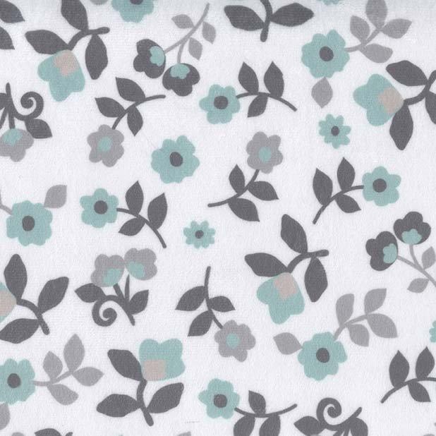 Michael Miller Fabrics Kashmir Floral Minky SMZ7706-MINT-D '