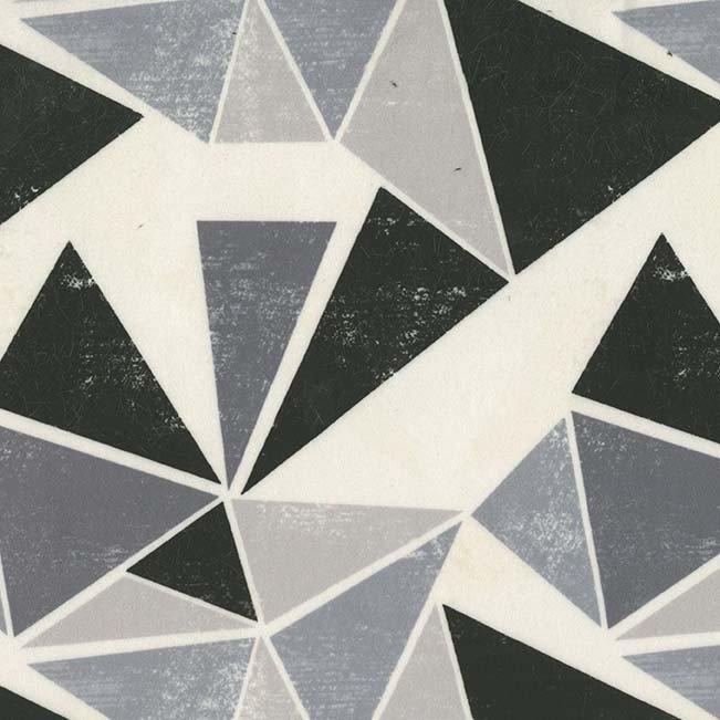Michael Miller Triangular Orgami Minky SMZ8147-BLAC-D '