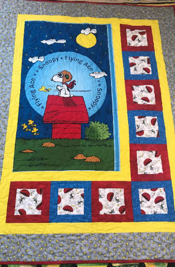 Snoopy 2 Quilt/Wall hanging