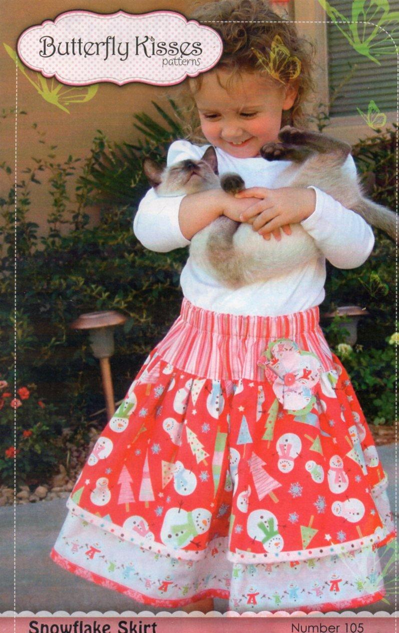 Snowflake Skirt  Pattern
