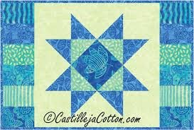 Starlight Placemat Pattern `