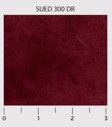 P&B Textiles Suede Dark Red SUED00300DR '