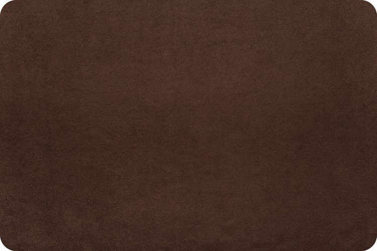 Shannon Fabric Suede Minky Chocolate `