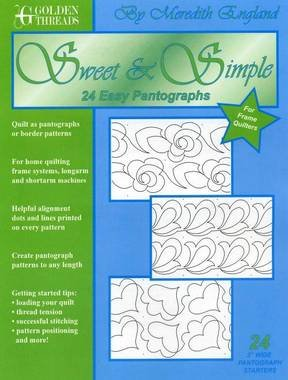 Golden Threads - Sweet & Simple Pantographs `
