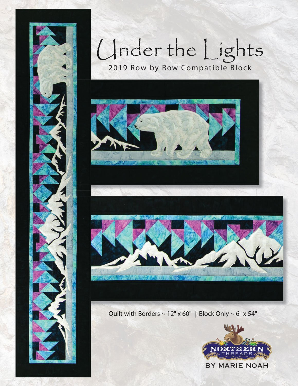 Under the Lights Pattern Northern Threads +