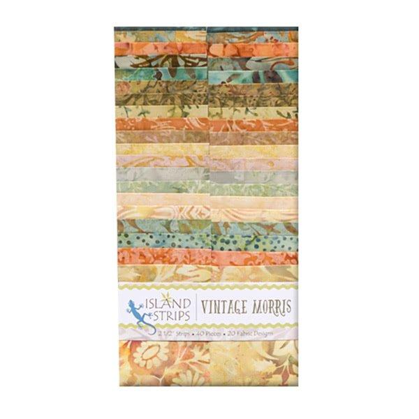 Vintage Morris Strips Batik `